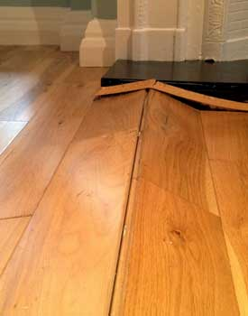hardwood flooring installation problems