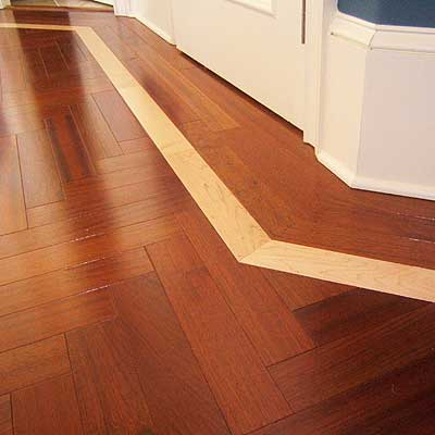 Installing Hardwood Flooring Borders
