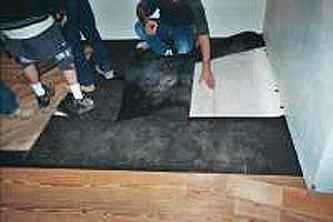 Checking subfloor