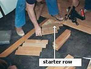 Installing Herringbone Floors