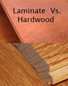 Hardwood floors versus laminate floors compare facts - Laminate versus hardwood flooring ...