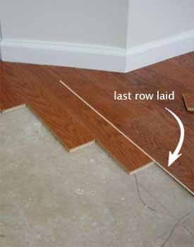 Last Row Laid