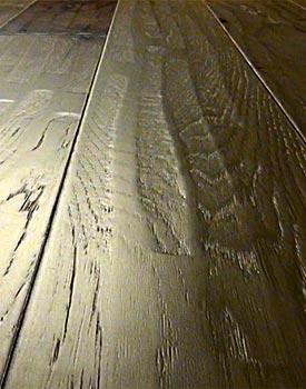 Hand Sed Distressed Hardwood Floors