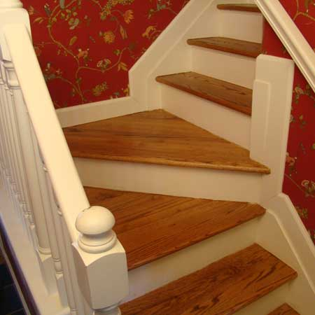 Stairs After Refinishing