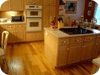 Hardwood in kitchens
