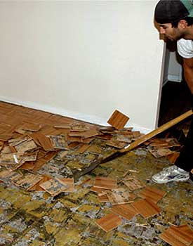 Remove Parquet Flooring Types How - What to do with parquet flooring