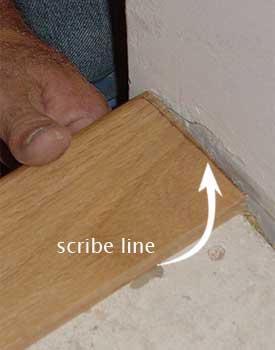Like The Riser, Scribe Stair Nosing
