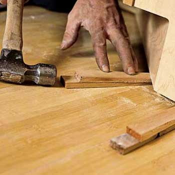 How To Install Lower Kitchen Cabinets cabinets or hardwood floors first? two case studies