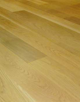 No bevels hardwood floor