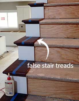 Raw Material Costs Can Run Anywhere False Stair Treads