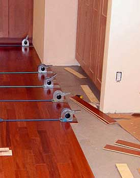 Floating hardwood floors introduction strap clamps with floating floor ppazfo