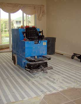 Large Tile Removal Machine