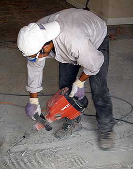 Jack Hammer For Tile Removal