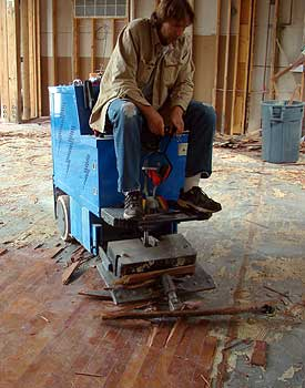 Nice If Youu0027re Large Floor Removal Machine